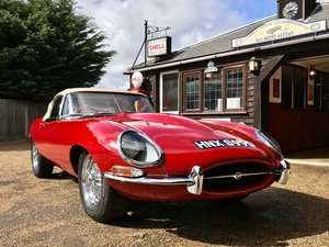 1966 JAGUAR E TYPE S1 4.2 ROADSTER For Sale