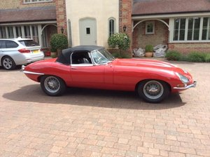 Jaguar E Type 1965 S1 4.2 Roadster Original RHD For Sale
