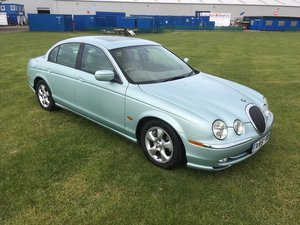 2000 Jaguar S-Type V6 SE Auto at Morris Leslie Auction 25th May SOLD by Auction