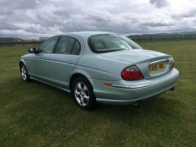 2000 Jaguar S-Type V6 SE Auto at Morris Leslie Auction 25th May SOLD by Auction (picture 3 of 4)
