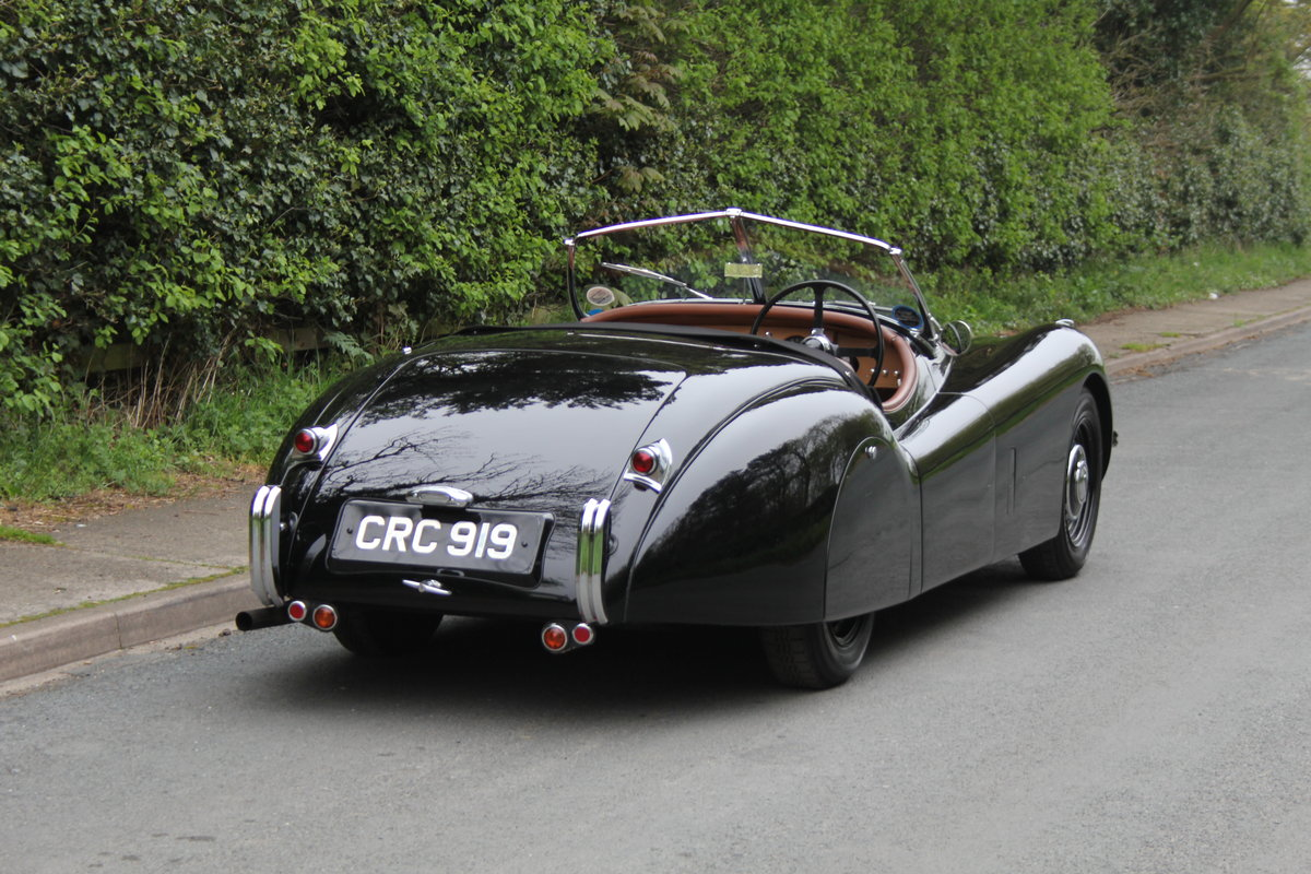 1951 Jaguar XK120 Roadster  For Sale (picture 5 of 12)