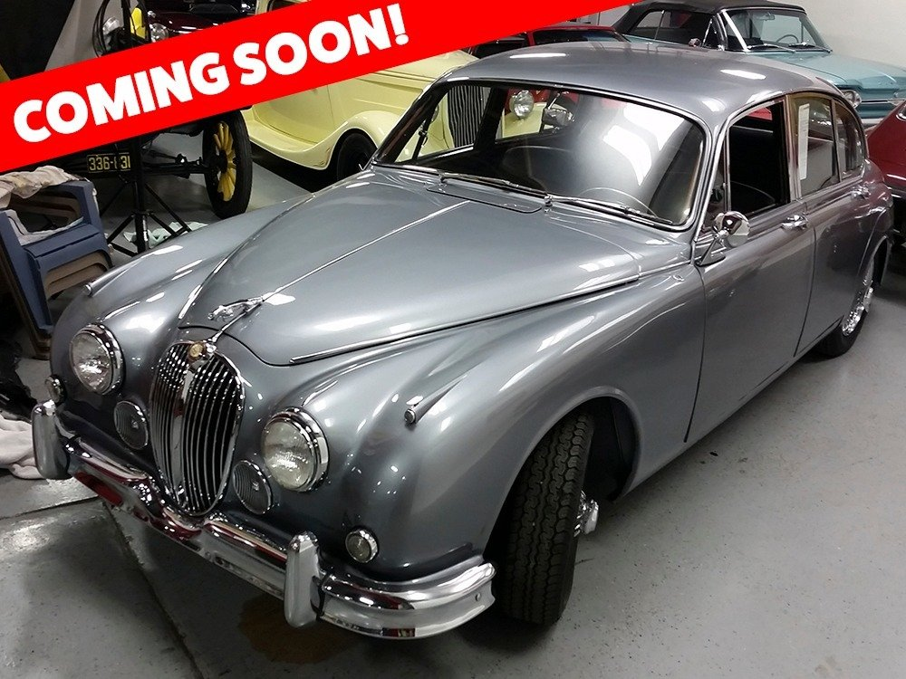 1962 Jaguar MK II Sedan = LHD clean Silver(~)Black $obo For Sale (picture 1 of 2)