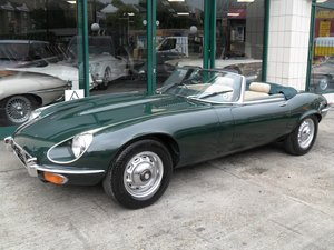 1973 Jaguar E Type Series Three Roadster RHD For Sale