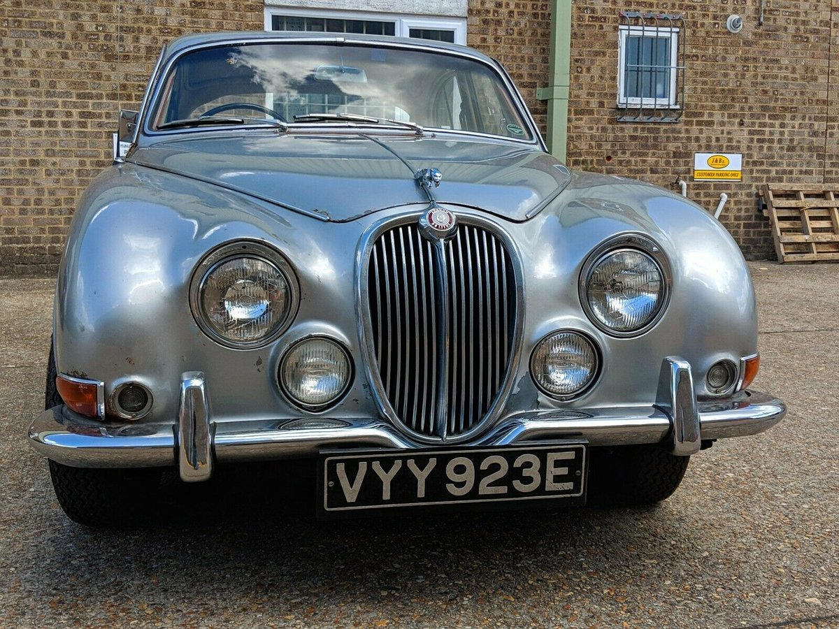 1966 Jaguar S-Type 3.8 Manual Right-Hand Drive For Sale (picture 3 of 6)