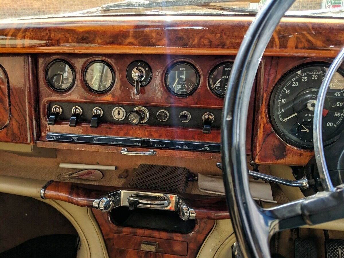 1966 Jaguar S-Type 3.8 Manual Right-Hand Drive For Sale (picture 6 of 6)