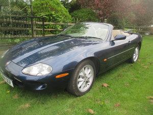 1999 Jaguar XKR Convertible -- Just 29000 miles  For Sale by Auction