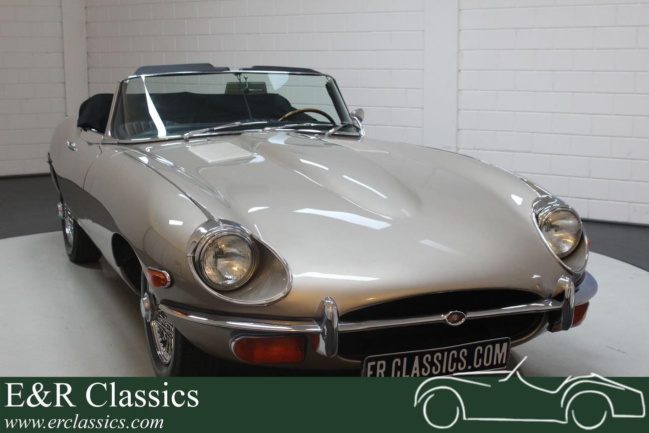 Jaguar E-type S2 Cabriolet 1970 Matching Numbers For Sale (picture 1 of 6)