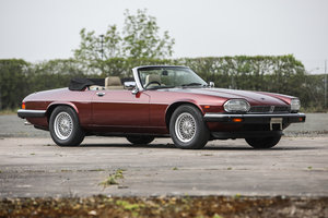 1991 Jaguar XJS V12 5.3 Convertible Just 15300 miles *SOLD* For Sale by Auction