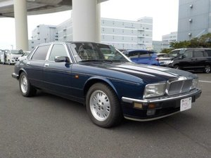 Jaguar 4.0 Sovereign XJ40 05/1994 Sapphire Blue  For Sale