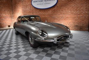 1964 Jaguar E-Type 3.8 Fixed Head Coupe = Silver(~)Red LHD  For Sale