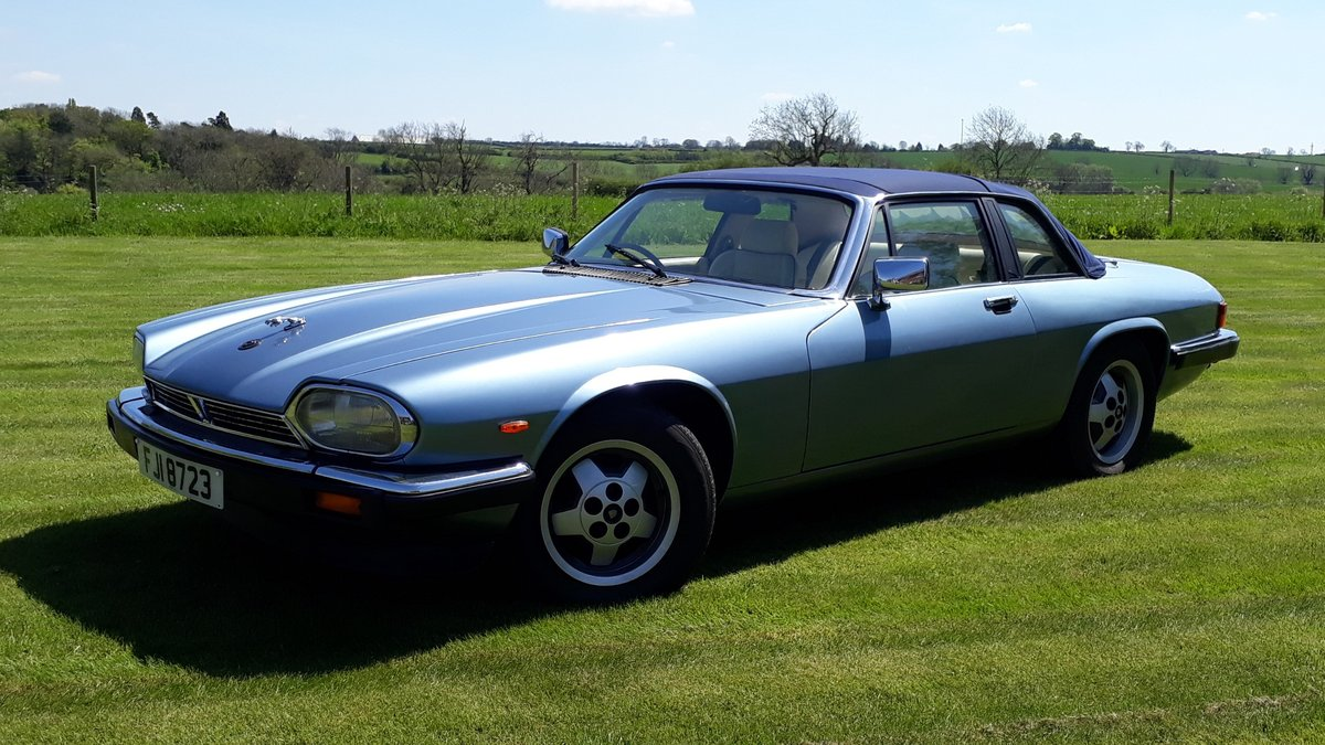 Jaguar XJ-SC Cabriolet 3.6 Manual 1987 Restored £7k 3 Owners SOLD (picture 1 of 6)