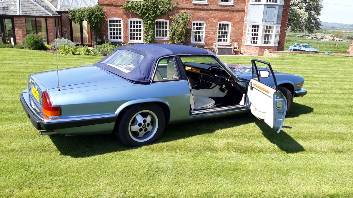 Jaguar XJ-SC Cabriolet 3.6 Manual 1987 Restored £7k 3 Owners SOLD (picture 3 of 6)
