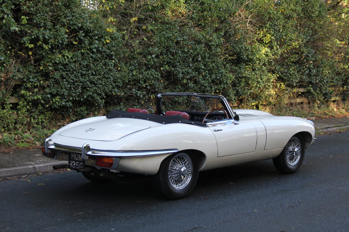 1968 Jaguar E-Type Series II 4.2 Roadster - Matching No's/Colour For Sale (picture 5 of 12)