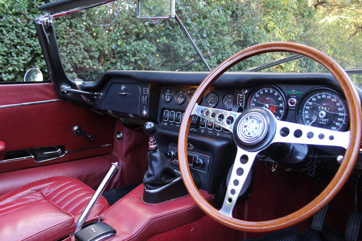 1968 Jaguar E-Type Series II 4.2 Roadster - Matching No's/Colour For Sale (picture 6 of 12)