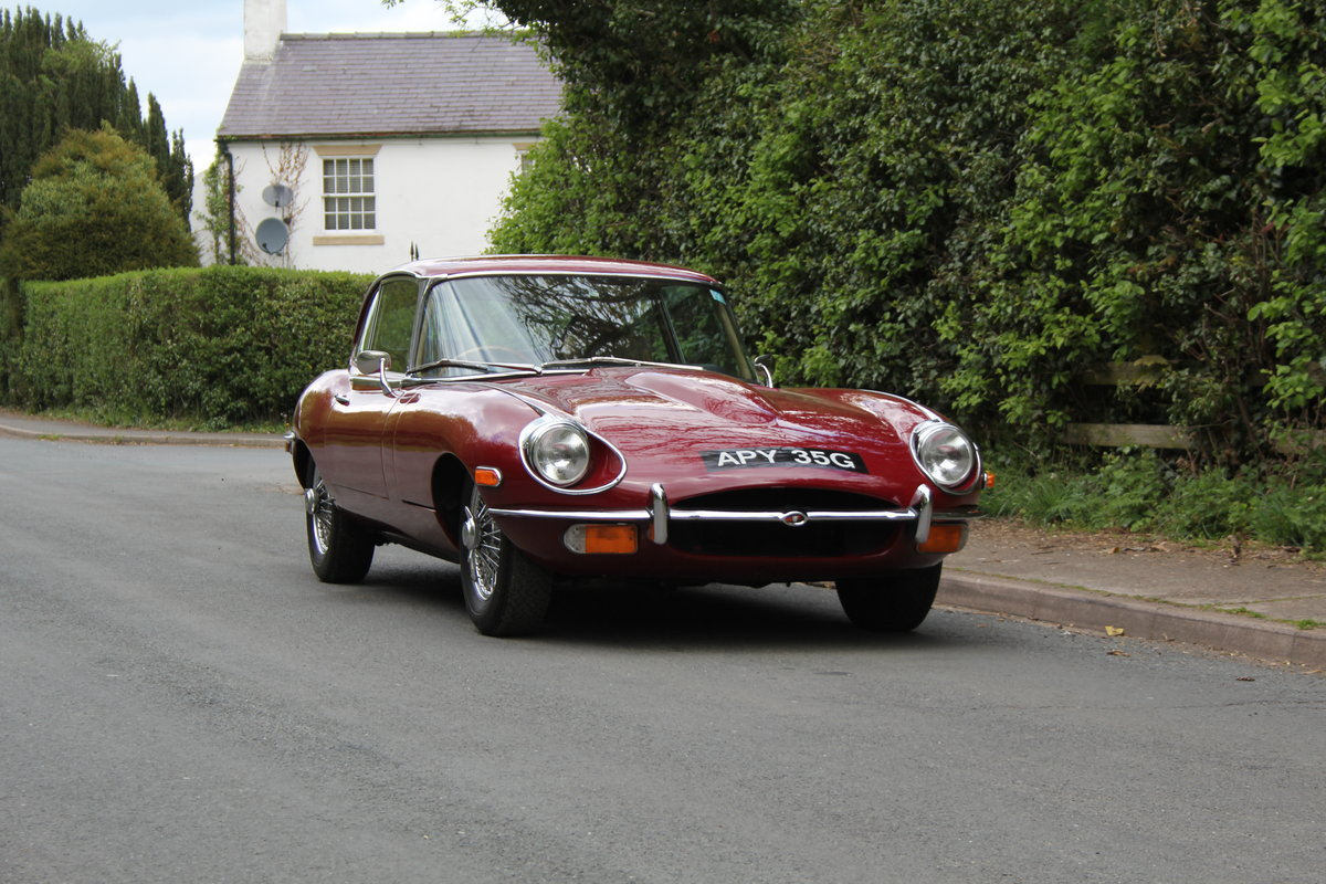 1969 Jaguar E-Type Series II 2+2 SOLD (picture 1 of 12)