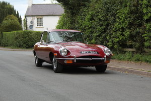 1969 Jaguar E-Type Series II 2+2 SOLD