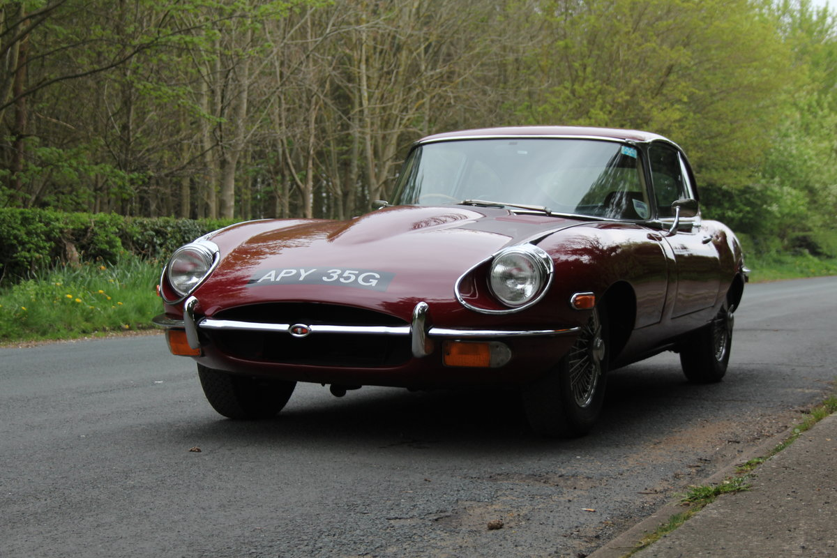 1969 Jaguar E-Type Series II 2+2 For Sale (picture 3 of 12)