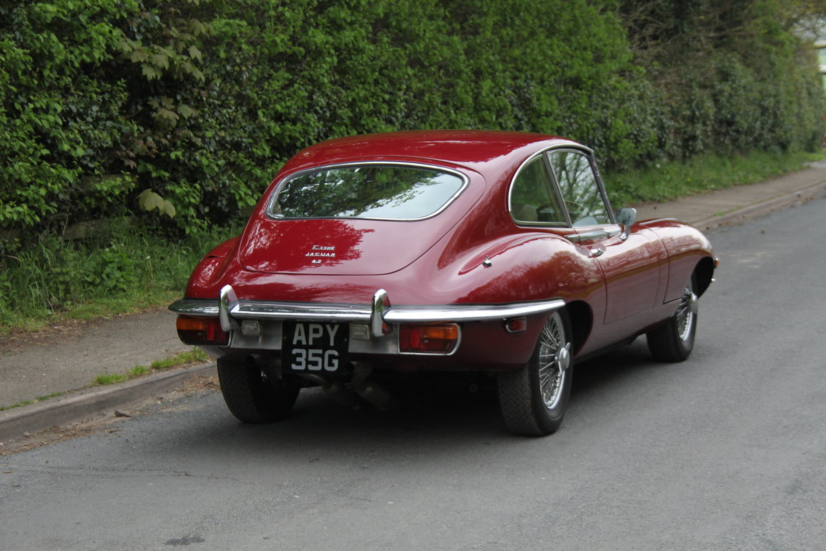1969 Jaguar E-Type Series II 2+2 SOLD (picture 5 of 12)