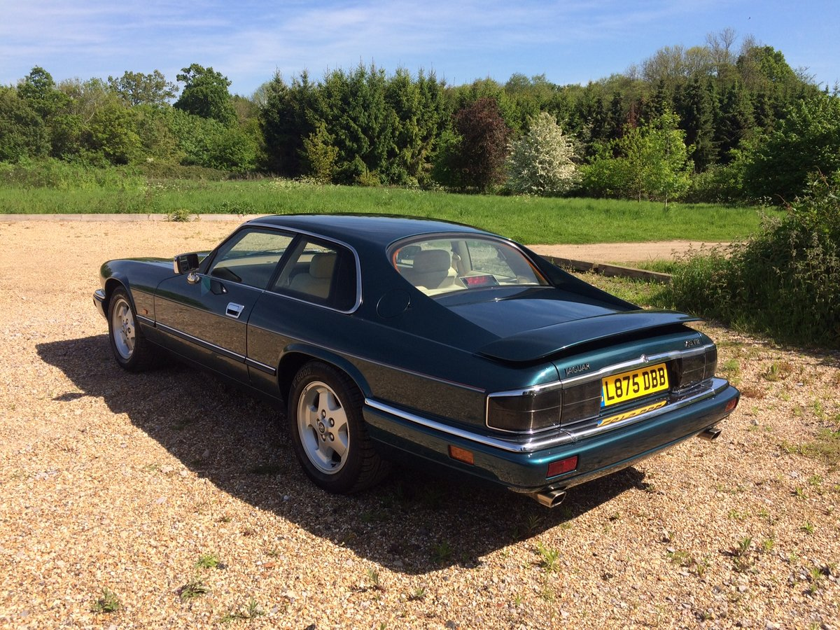 1994 Jaguar XJS 6.0 Coupe UK Supplied New 20k Miles  For Sale (picture 2 of 6)