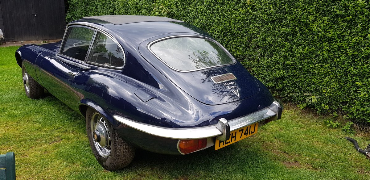 1971 E-Type S3 FHC Matching Numbers Stored 28 yrs SOLD (picture 3 of 6)