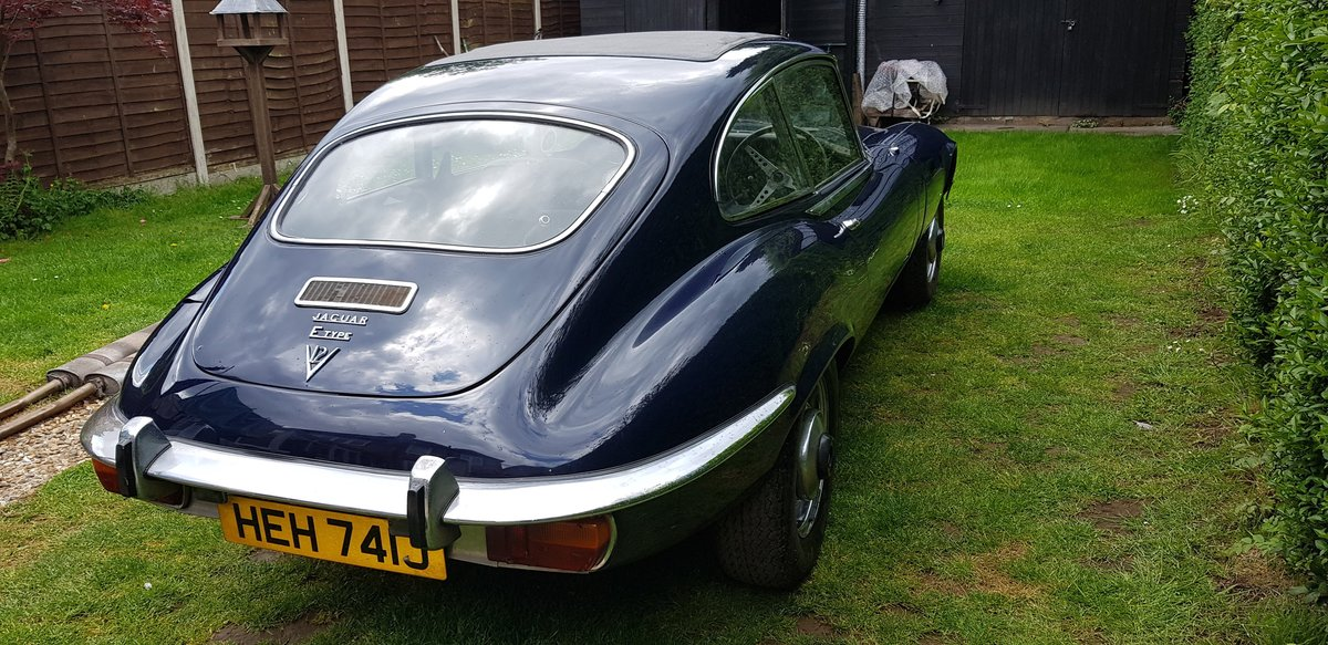 1971 E-Type S3 FHC Matching Numbers Stored 28 yrs SOLD (picture 4 of 6)