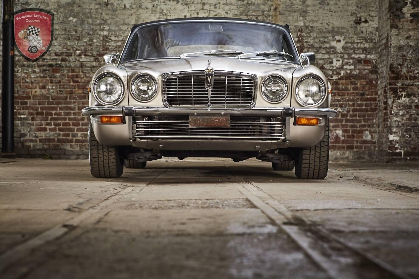 1974 Jaguar XJC 5.3 convertible For Sale (picture 1 of 6)