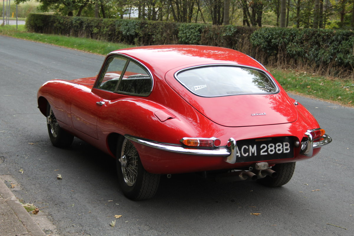 1964 Stunning UK, Matching No's Jaguar E-Type Series One 3.8 FHC SOLD (picture 3 of 11)