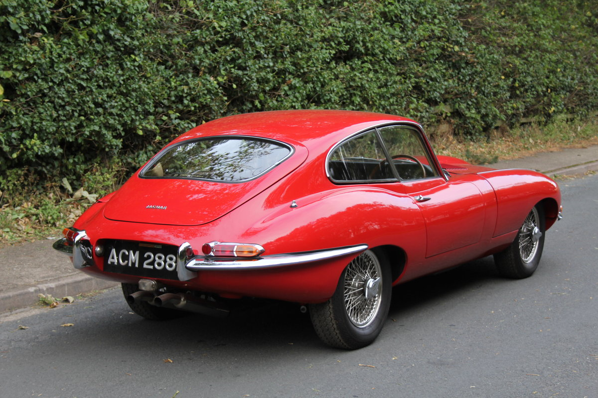 1964 Stunning UK, Matching No's Jaguar E-Type Series One 3.8 FHC SOLD (picture 5 of 11)