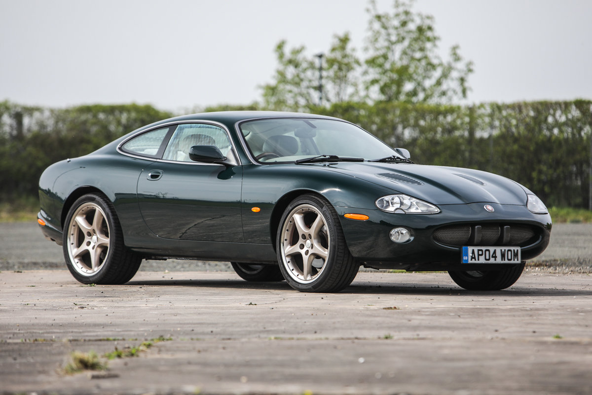 2001 2004 Jaguar XKR - just 43200 miles and two owners For Sale by Auction (picture 1 of 6)