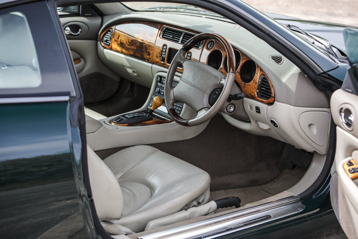 2001 2004 Jaguar XKR - just 43200 miles and two owners For Sale by Auction (picture 3 of 6)