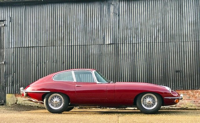 1969 Jaguar E Type Series II FHC 4.2 Matching No's For Sale (picture 3 of 6)