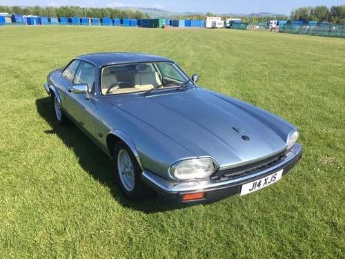 1991 Jaguar XJS 4.0 at Morris Leslie Auction 25th May For Sale by Auction (picture 1 of 5)