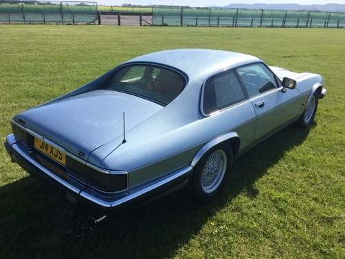 1991 Jaguar XJS 4.0 at Morris Leslie Auction 25th May For Sale by Auction (picture 4 of 5)