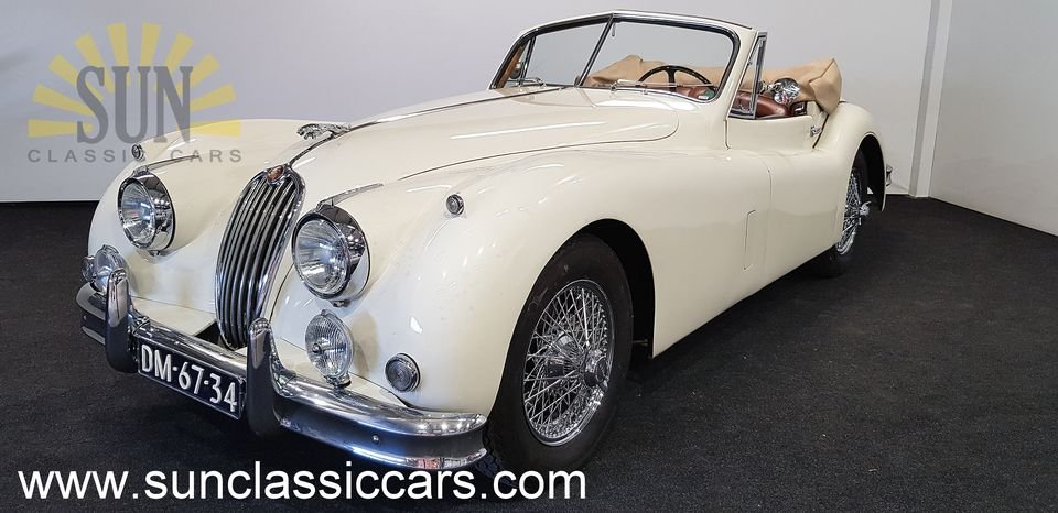 Jaguar XK 140 DHC 1956, matching numbers For Sale (picture 1 of 6)