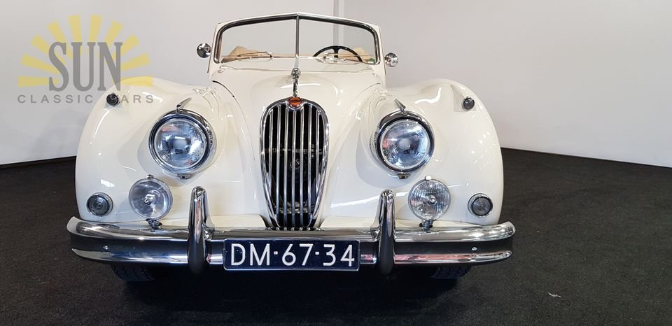 Jaguar XK 140 DHC 1956, matching numbers For Sale (picture 2 of 6)