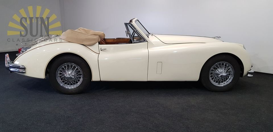 Jaguar XK 140 DHC 1956, matching numbers For Sale (picture 3 of 6)
