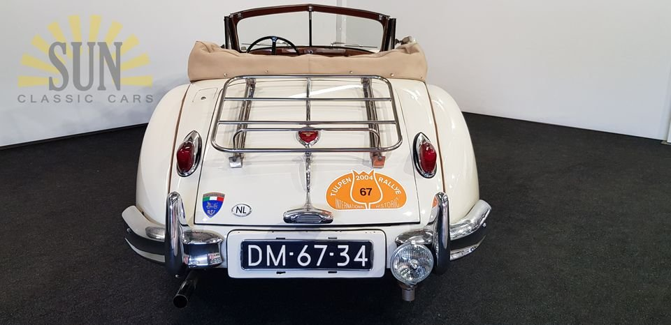 Jaguar XK 140 DHC 1956, matching numbers For Sale (picture 4 of 6)