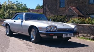 1988 Museum condition - beautiful Jaguar XJ convertible For Sale