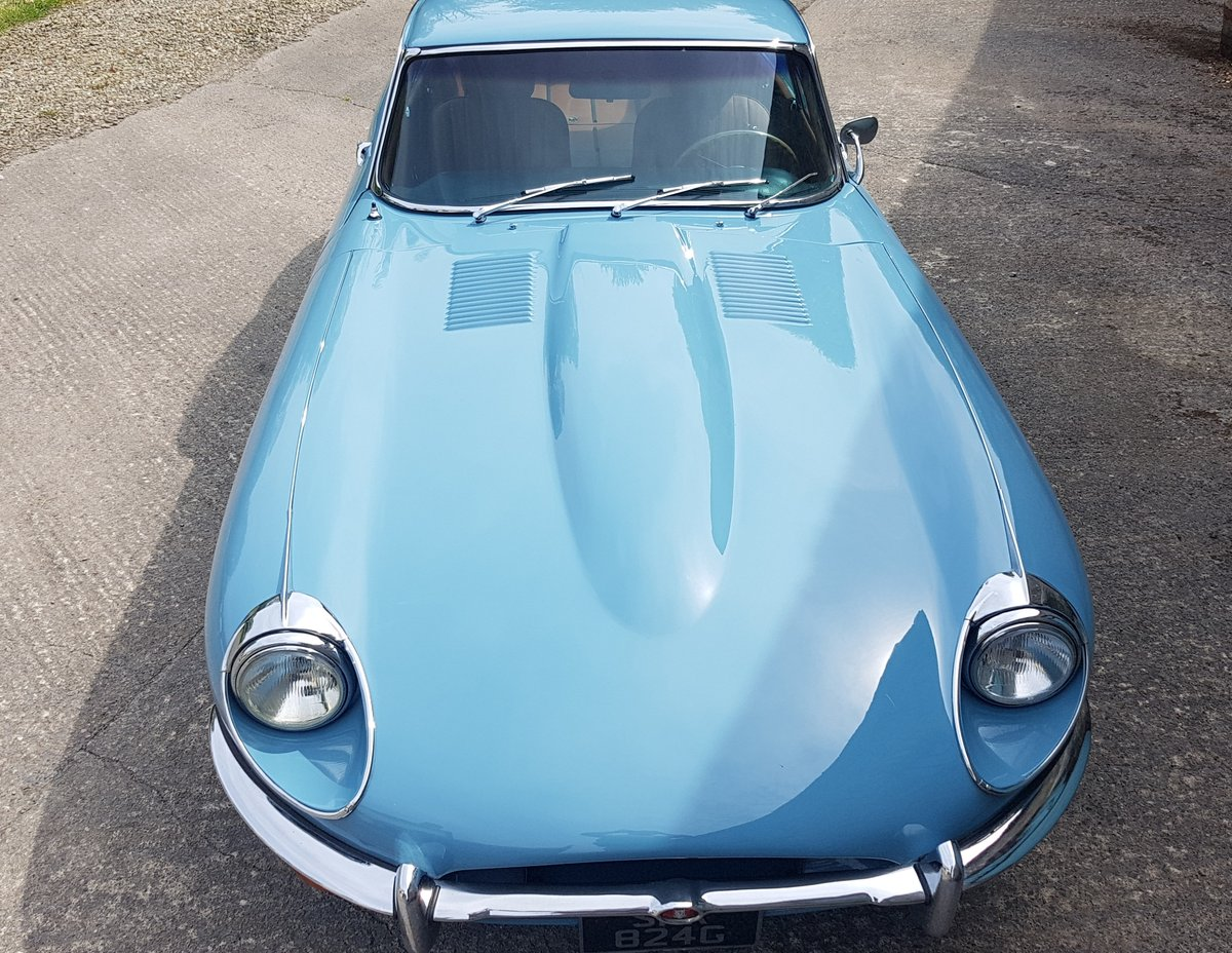 E Type Jaguar FHC - Only 3 owners from new & Ready to Enjoy For Sale (picture 2 of 6)