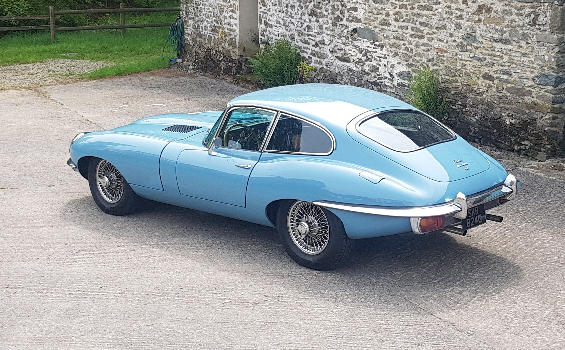 E Type Jaguar FHC - Only 3 owners from new & Ready to Enjoy For Sale (picture 6 of 6)