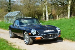 1972 Jaguar E-Type V12 Roadster LHD For Sale