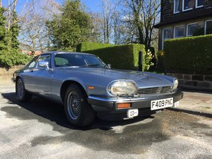 1989 Jaguar XJS Excellent condition for a 30 year old SOLD