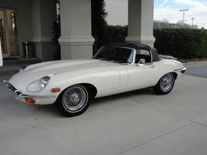 1969 E-Type Series II Roadster (LHD)  For Sale