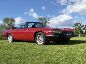 1988 Jaguar XJ-S V12 Cabriolet - No Reserve  For Sale by Auction