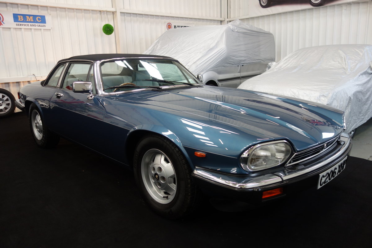 1985 Jaguar XJ-SC in lovely condition. Excellent history SOLD (picture 1 of 6)