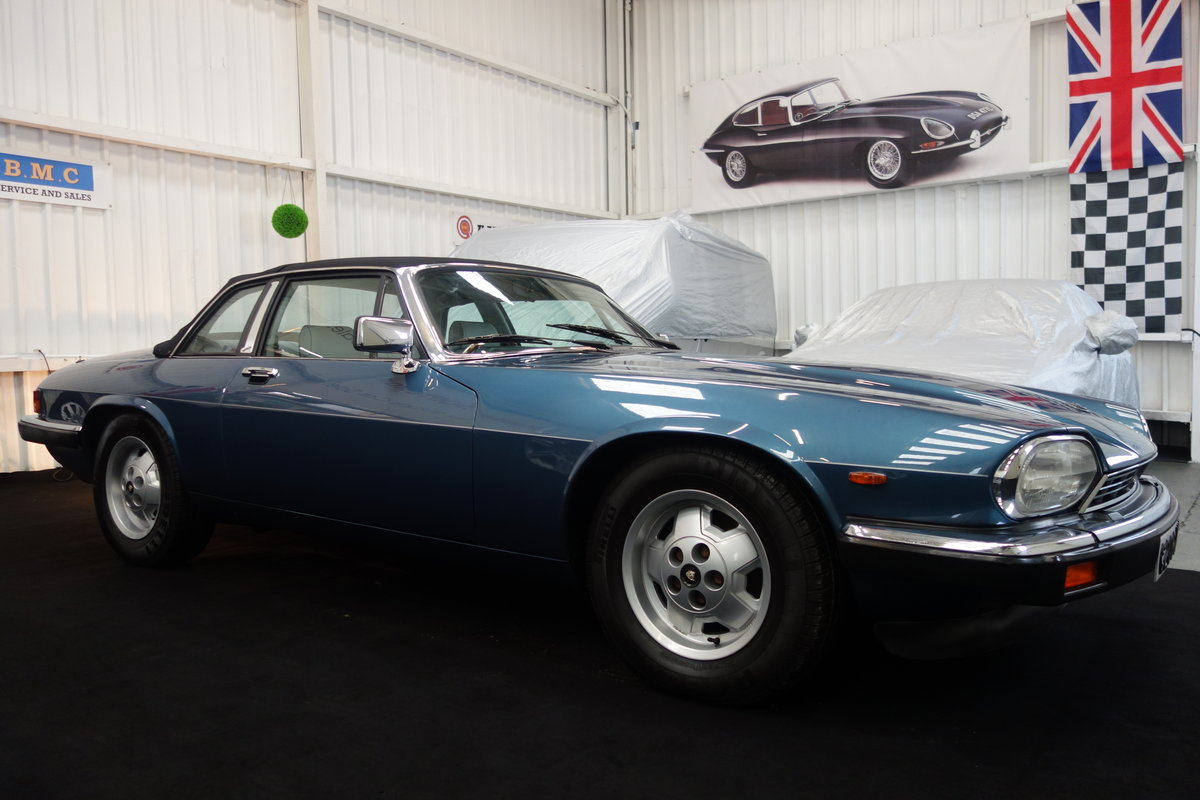 1985 Jaguar XJ-SC in lovely condition. Excellent history SOLD (picture 3 of 6)