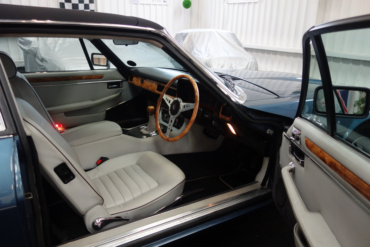 1985 Jaguar XJ-SC in lovely condition. Excellent history SOLD (picture 5 of 6)