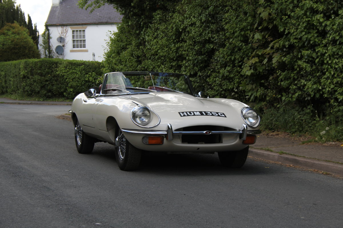 1968 Jaguar E-Type Series II 4.2 Roadster - Matching No's/Colour SOLD (picture 1 of 12)