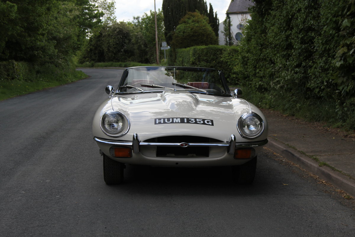 1968 Jaguar E-Type Series II 4.2 Roadster - Matching No's/Colour SOLD (picture 2 of 12)