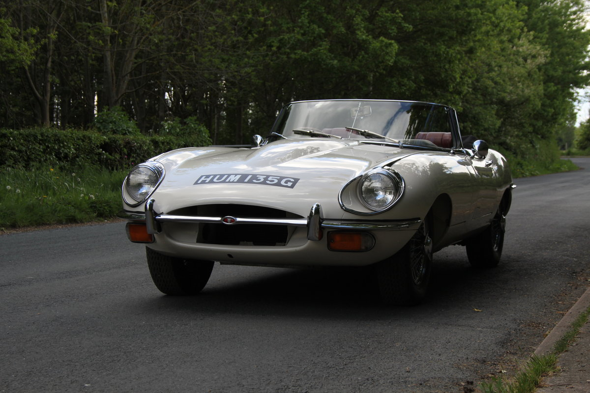 1968 Jaguar E-Type Series II 4.2 Roadster - Matching No's/Colour SOLD (picture 3 of 12)